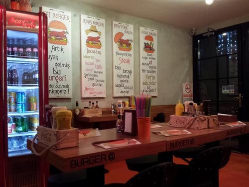 Gurme burgercilere bir yenisi daha
